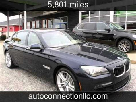 2011 Bmw 750li Used Cars  Montgomery,alabama Youtube