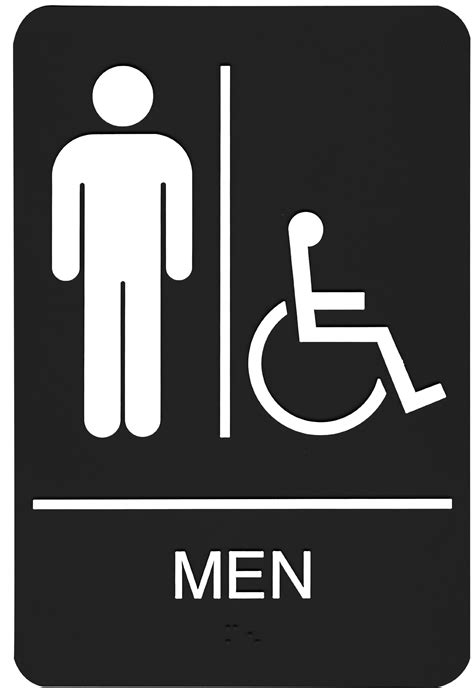 printable handicap bathroom signs 5 best images of s restroom sign printable printable