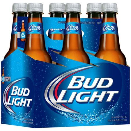Bud Light 6 Pack by Bud Light 6 Pack 16 Fl Oz Walmart