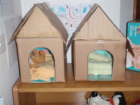 pet ideas for preschoolers kennels i made which could then paint and 13072
