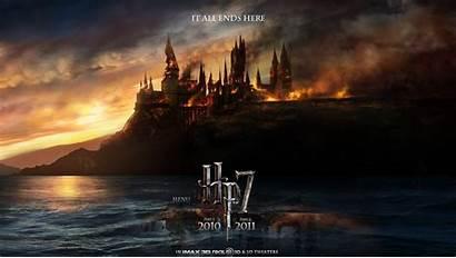 Potter Harry Hallows Deathly Background Desktop Wallpapers