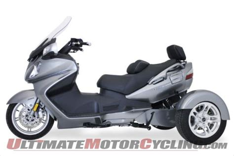 Motor Trike Conversion For Suzuki Burgman 650 Scooter