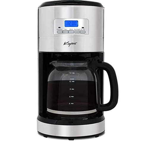 This is because of its excellent features that make it produce better quality that most people want. Automatic Drip Coffee Maker with Adjustable Brewing Modes and Settings - Stainless Steel - 12 ...