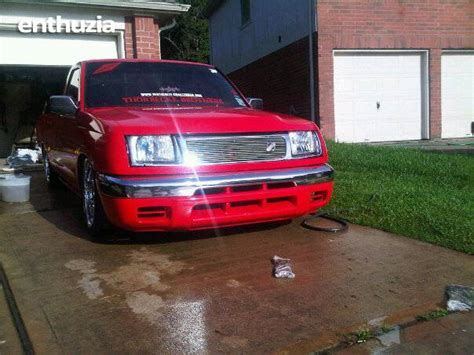bagged nissan frontier bagged trucks graphics and comments