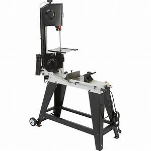 Klutch Horizontal  Vertical Metal Cutting Band Saw  U2014 4 1