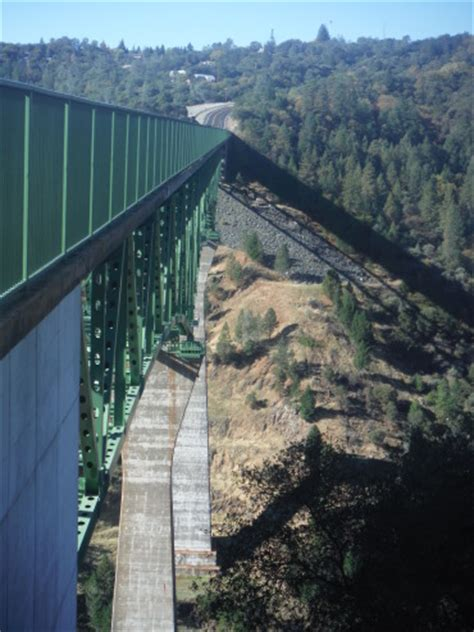 The Foresthill Bridge: A Bridge over a Reservoir that