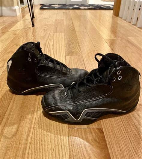 2006 Nike Air Jordan 21 Xxi Retro Black Flint Grey Leather