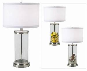 Large glass floor vases fillable glass cylinder collector for Fillable glass floor lamp
