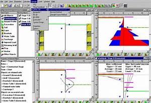 Retaining wall design software concrete