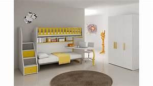 Lit Mezzanine Pour Enfant : chambre enfant compl te lits superpos s moretti compact so nuit ~ Teatrodelosmanantiales.com Idées de Décoration