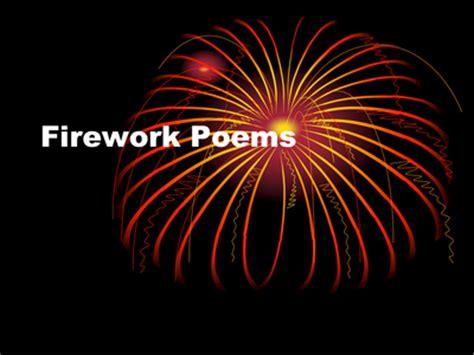 firework poemsppt