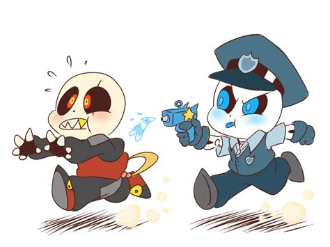 Little Sc!sans And Bb!fell By Thegreatrouge On Deviantart