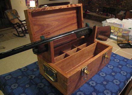 gunning  gun cleaning box gunsmithing stand