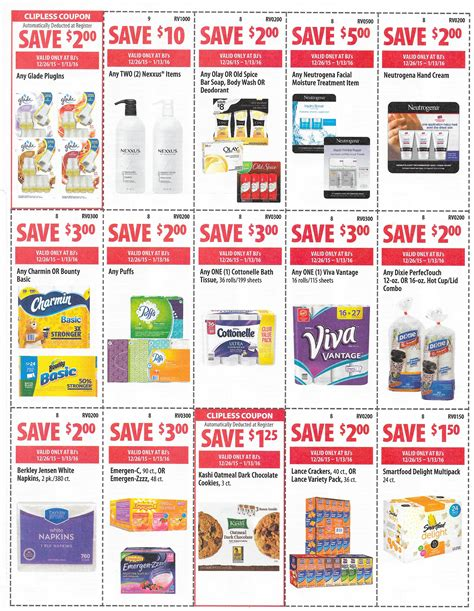 bjs printable coupons bj s front of door coupons 12 26 1 13 ship saves 20619 | SCAN0269