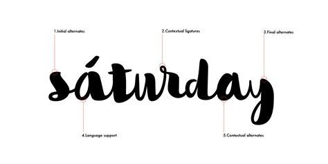 fontspring flow handscript font  taner ardali