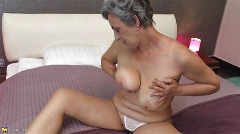 Jovanka S In Granny Licks Her Saggy Boobs Hd From