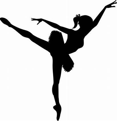 Ballerina Clip Clipart Ballet Silhouette Dancer Dance