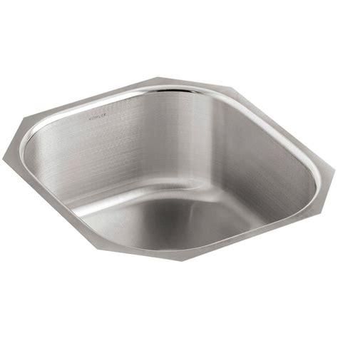 kohler undertone undercounter stainless steel 16 in