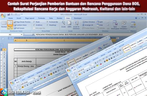 contoh surat perjanjian pemberian bantuan dan rencana