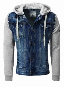 Cipo Baxx Jeans Herren Auf Rechnung : cipo baxx jeansjacke mit stoff rmeln und brusttaschen blau ~ Themetempest.com Abrechnung