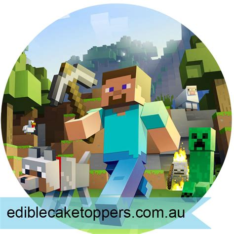 minecraft edible cake images