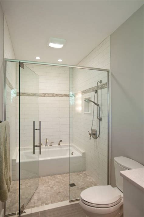 Pictures Of Small Bathrooms With Tub And Shower by This Arrangement By Nest Design Guest Bathroom With