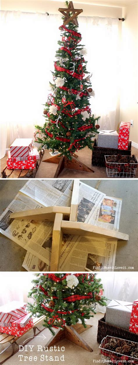 creative tree stands 30 creative tree stand diy ideas hative
