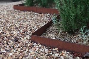 Bordure De Jardin Metal : cl ture acier corten et d autres applications du m tal rouill ~ Dailycaller-alerts.com Idées de Décoration