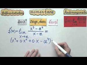 Momentane änderungsrate Berechnen : momentane nderungsrate oder ableitung der funktion zeigen teil 2 differentialrechnung youtube ~ Themetempest.com Abrechnung