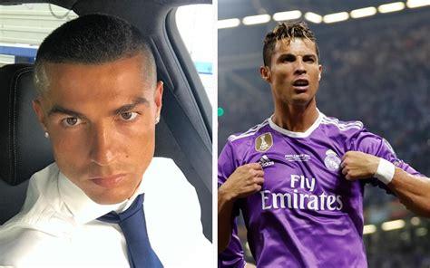 cristiano ronaldo reveals reason   skinhead haircut