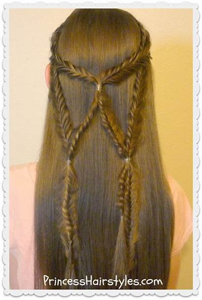 Braid Hairstyles Fishtail Tie Hairstyle Wings Angel