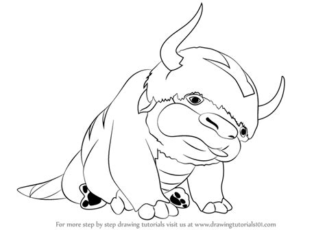 Learn How To Draw Appa From Avatar The Last Airbender