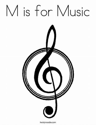 Coloring Musical Pages God Note Instruments Praise