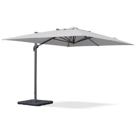 parasol deporte rectangulaire 3x4m parasol d 233 port 233 rectangulaire st jean de luz 3x4m haut de gamme excentr 233 inclinable rotatif 224
