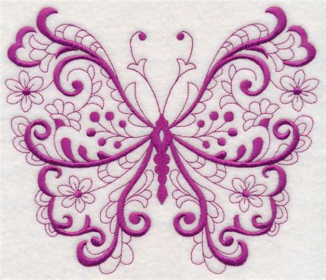 Free Applique Designs For Embroidery Machine by Free Embroidery Design Fancy Filigree Butterfly Free