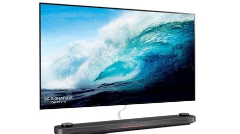 Tvs New Focal Point by New 20 000 77 Inch Lg Oled Tv Hangs Like A Picture On The