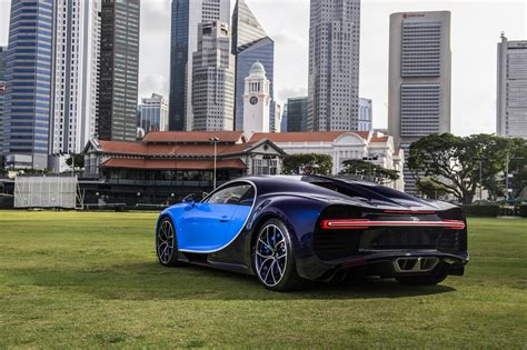 Volkswagen has gone to incredible lengths to recreate the essence of what ettore bugatti's small shop was for those who weren't racing, bugatti made fast cars covered in beautiful bodies designed by today the chiron is the fastest production car in the world but is also easy to drive on normal. Bugatti Chiron lands in Singapore but owner can't drive it ...