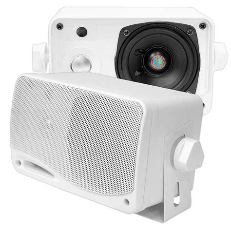 Boat Speakers Manual by Pyle Plmr24 Marine And Waterproof Weatherproof Speakers