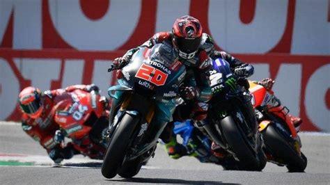 Berikut starting grid gp jerez minggu (2/5). Hasil Kualifikasi MotoGP Ceko 2020, Kompatriot Fabio ...