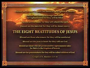 The Eight Beatitudes Of Jesus Digital Art by William Ladson