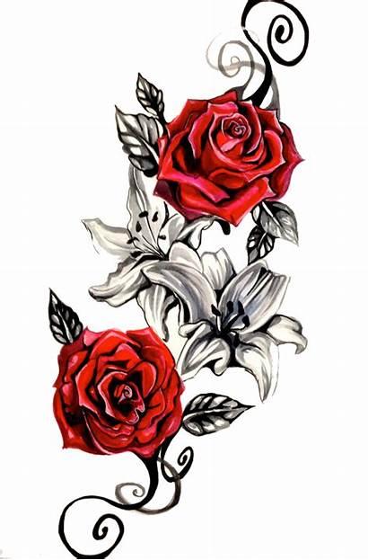 Tattoo Designs Roses Transparent Pluspng