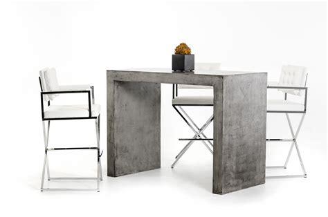 mid century chandelier modrest mcgee modern concrete bar table