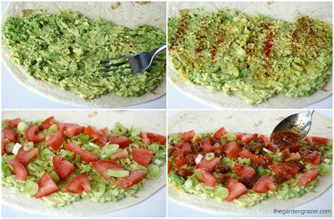 Garden Quesadilla by The Garden Grazer Avocado Quesadillas Vegan