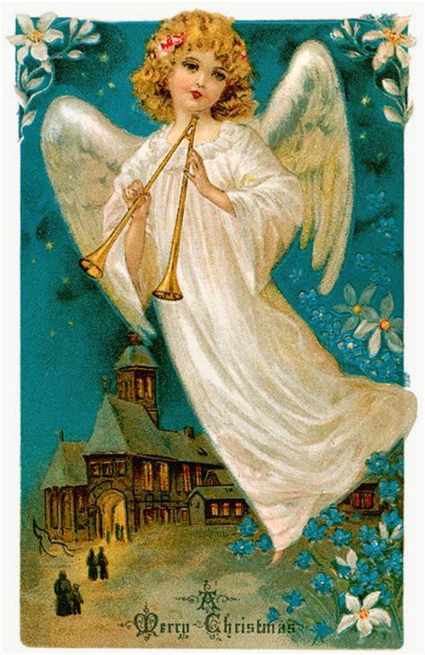 christmas angel christmas angel vintage images