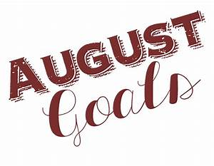 Monthly Goals Archives - Meredith Rines