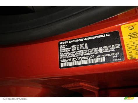 bmw valencia orange paint code