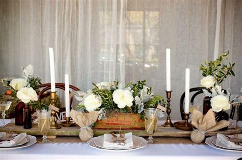 deco table des maries d 233 coration mariage ch 234 tre 50 id 233 es originales