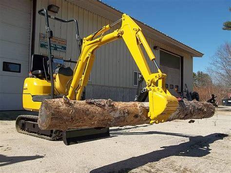 excavator komatsu pc  mini