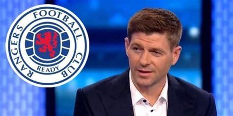Steven Gerrard Resmi Manajer Baru Rangers #beritabola # ...