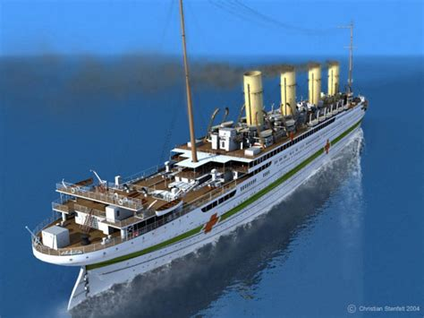 Britannic Sinking In Real Time by Hmhs Britannic Atlantic Liners